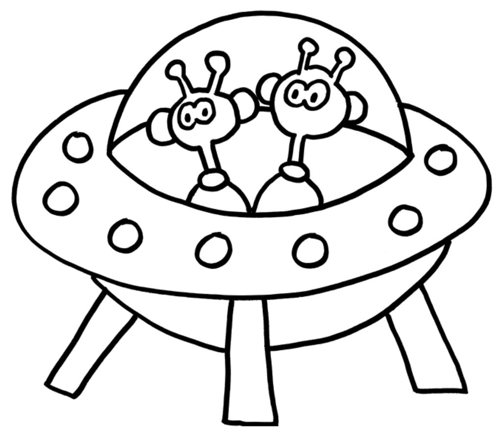 Mytoys Malvorlagen Ufo