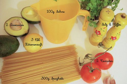 Tomaten-Avocado-Sauce