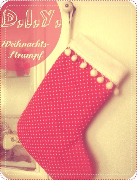 Weihnachtsstrumpf // D.I.Y. | nähmarie