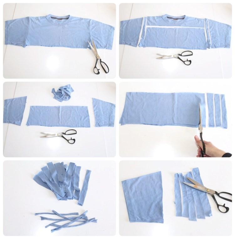 t-shirt garn herstellen