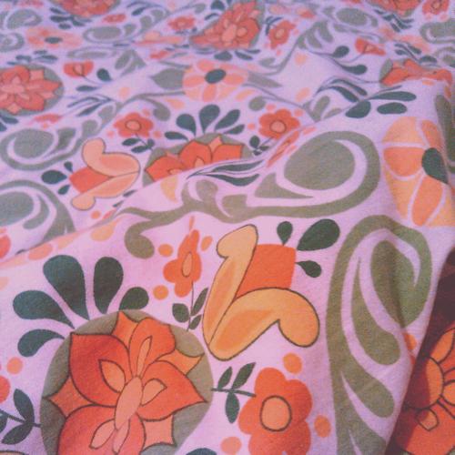 Vintage-Bettbezug / Sieben-Sachen-Sonntag