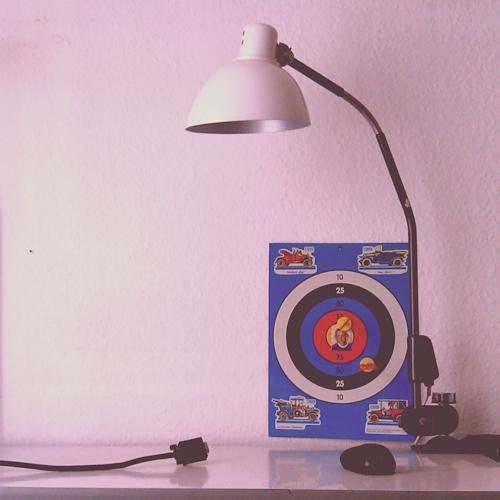 Vintage-Lampe / Sieben-Sachen-Sonntag
