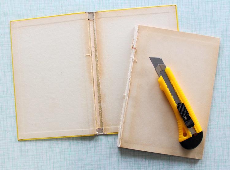 Buch-Hülle für Tablet oder E-Reader {DIY} (3)