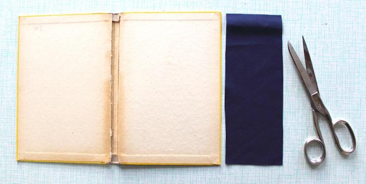 Buch-Hülle für Tablet oder E-Reader {DIY} (5)