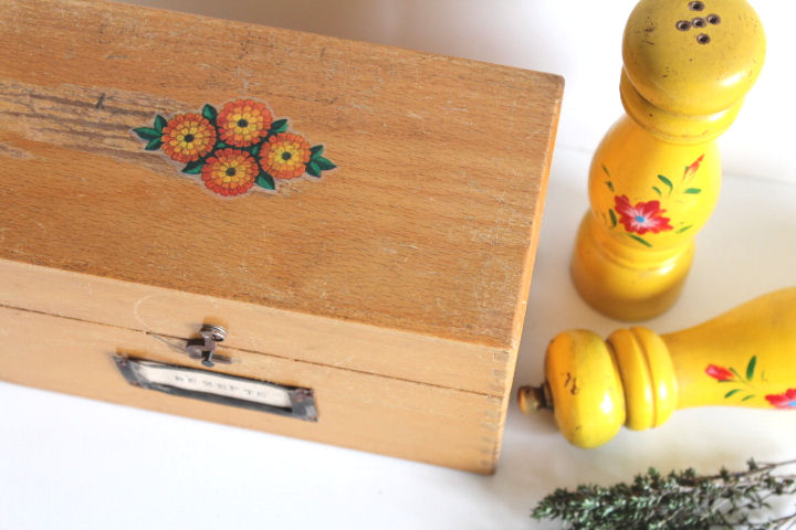 Upcycling Rezeptbox