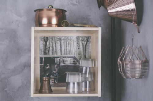 DIY Photo Transfer onto Furniture // Fototransfer auf Holzmöbel