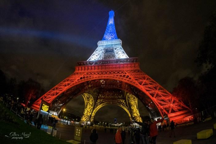 La Tour Eiffel à 8mm