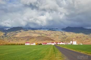Vue sur l'Eyjafjallajökull