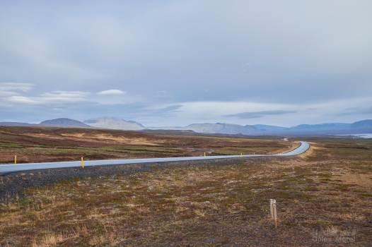 Route autour de Þingvellir