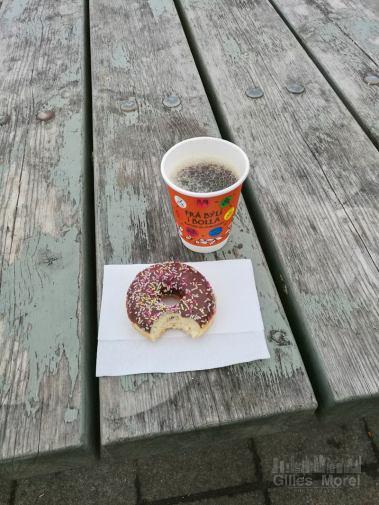 Seljalandsfoss / café et donut