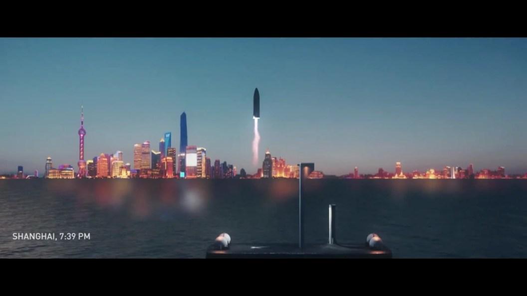 "BFR en mode ""vol intercontinental"""