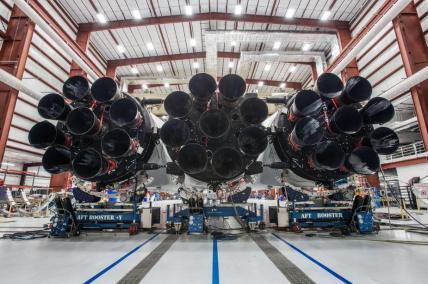 Falcon Heavy moteurs
