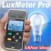 LuxMeter Pro 照度計のiPhoneアプリ