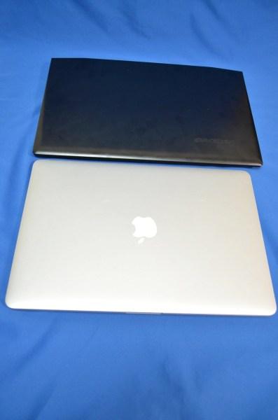 LenovoY50とMacBookProRetina15