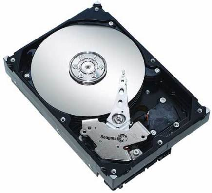 Inside a Typical Hard Drive