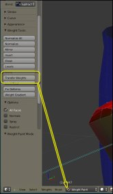 New Blender Feature - Transfer Weights