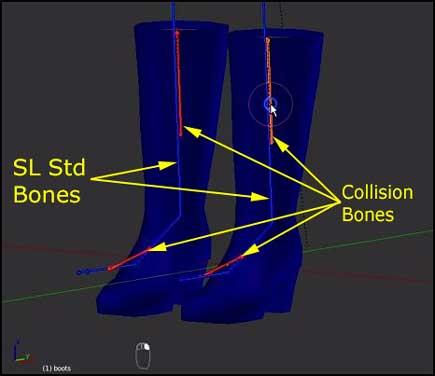 Collision Bones/Volumes