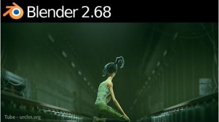 Blender 2.68 Released