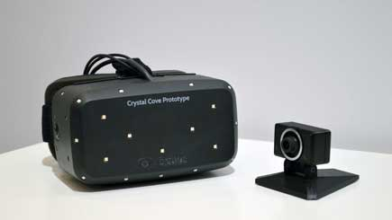 The New Crystal Cover - Oculus Rift Prototype