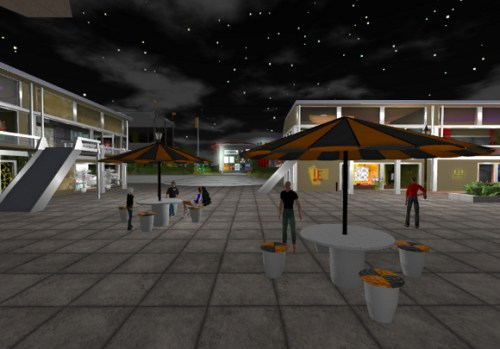 OpenSim - OSGrid - By:  Linux-Screenshots, Flickr
