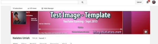 New Template Shown on YouTube Using Firefox.