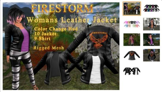 Firestorm Support Jacket - Link farther down the page