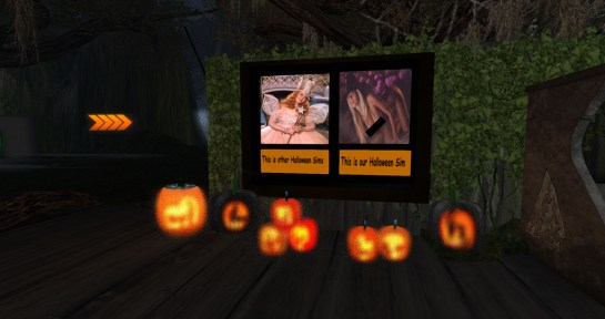 Landing Zone Adult Halloween Sim 2016 - Interesting Promo :)