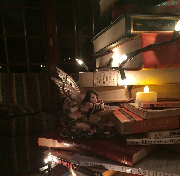 book tree fairy