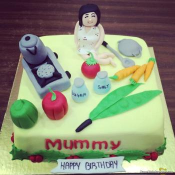 Birthday Cake For Mom Special Cakes For Special Relation