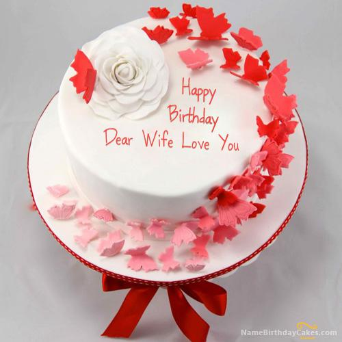 Happy Birthday Cake For Wife Download Share