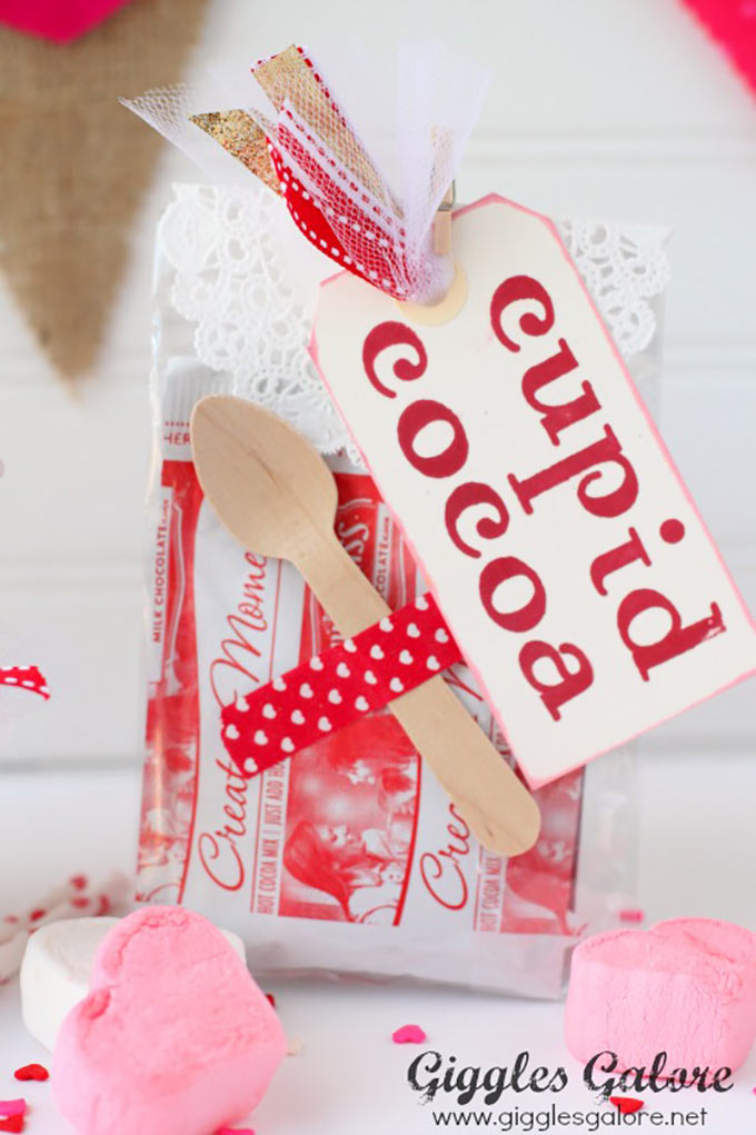 An Adorable Hot Chocolate Valentine Gift