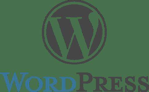 Wordpress logo stacked rgb
