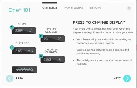 Fitbit one setup 016