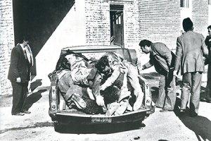 پاسداران قتلعام شده در بیمارستان پاوه