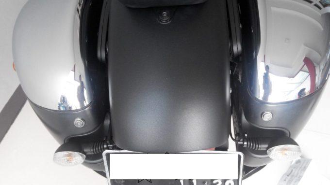 Modifikasi bagian Belakang Vulcan S