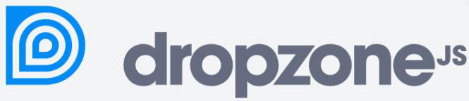 DropzoneJS,similar to WordPress uploading Media.