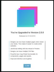 Bootstrap Studio 2.0.0