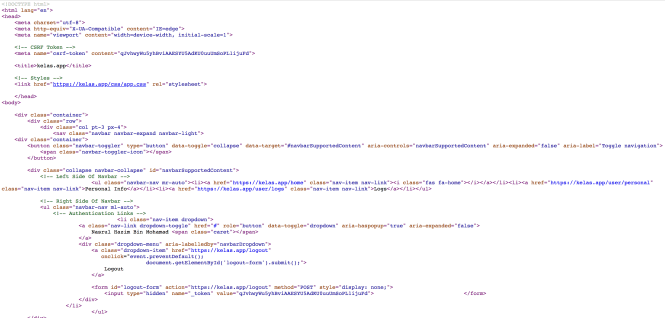 Ugly HTML Codes