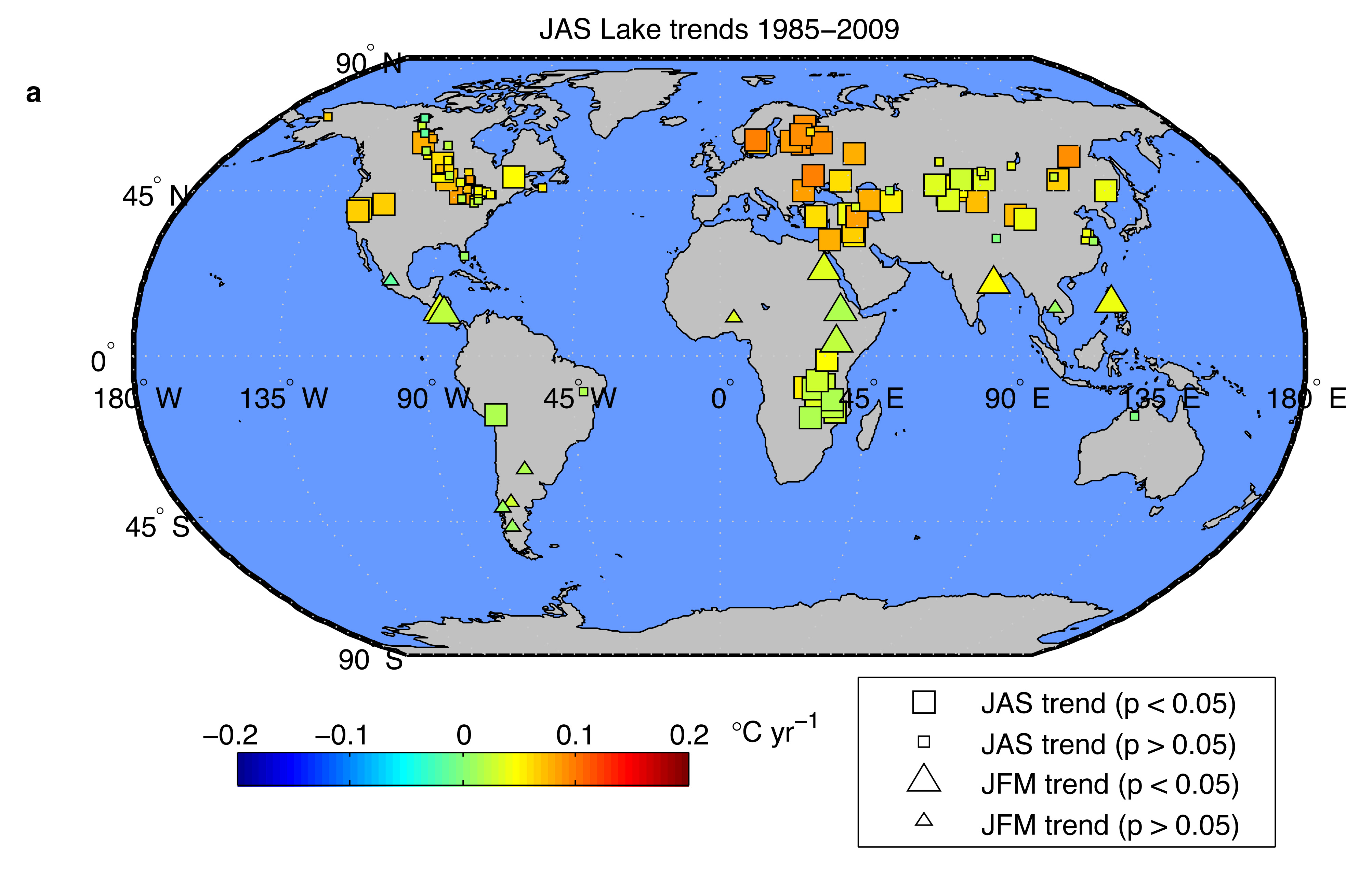 Warming Lakes Barometers Of Climate Change National