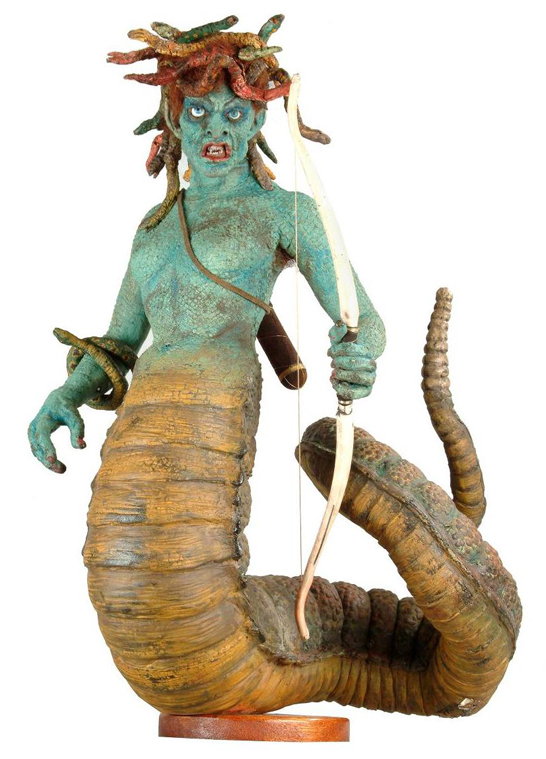 Medusa model © Ray and Diana Harryhausen Foundation