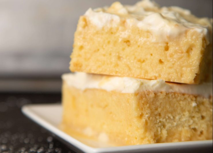 Tres Leches Cake & Butter Rum Frosting