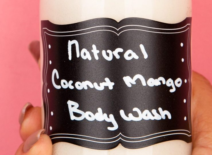 Natural Coconut Mango Body Wash