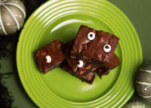 Spooky Eyed Fudgy Brownies