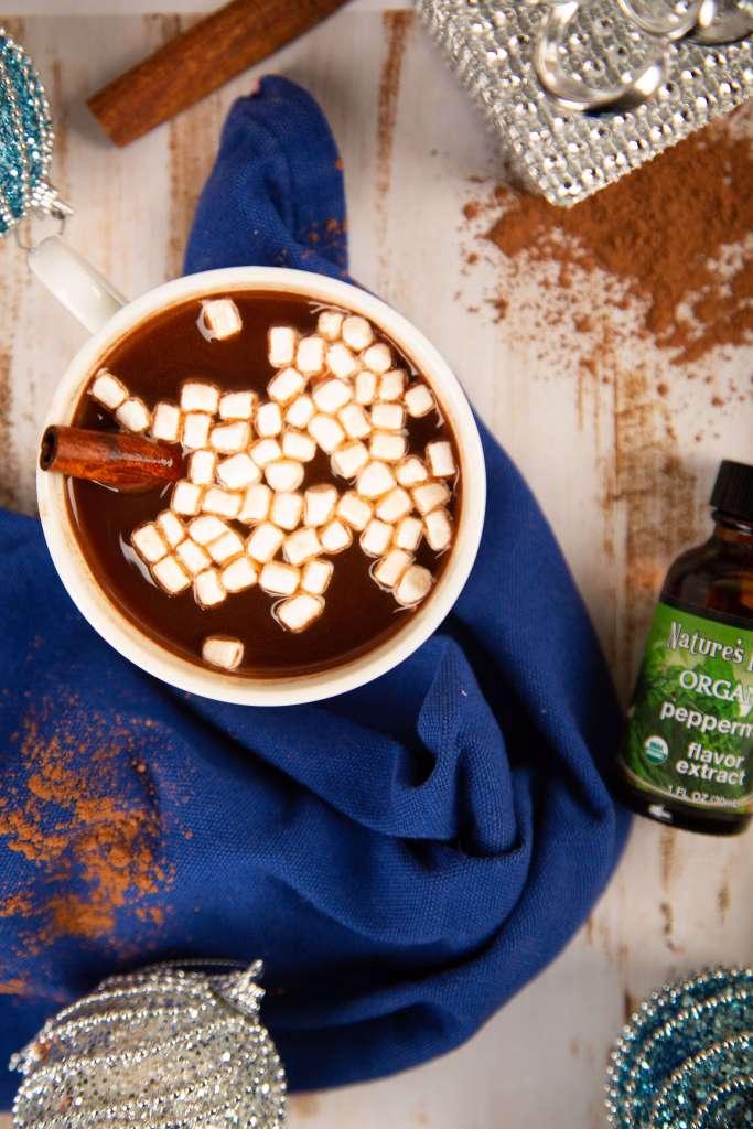 Healthier Peppermint Mocha