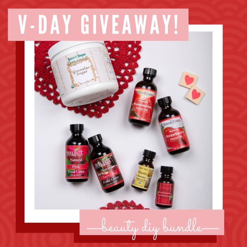 nature's flavors valentine's day giveaway
