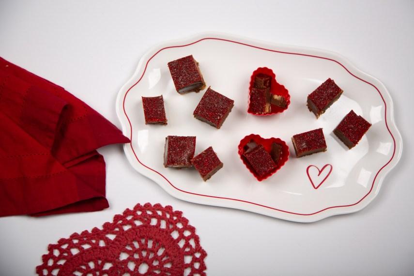 Chocolate Strawberry Fudge