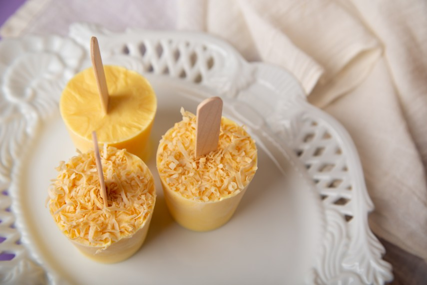 Vegan Mango Popsicles Recipe