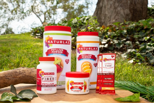 naturlax's products in the outdoors
