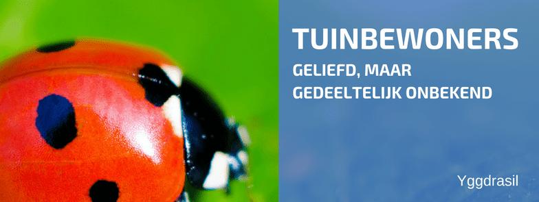 Tuinbewoners: Graag Gezien of Niet: Lieveheersbeestjes!