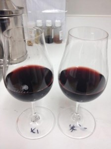The two Pinot Noirs.
